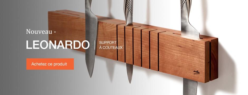 Milan articles de cuisine for Support couteaux cuisine